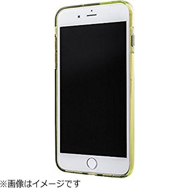 坂本ラヂヲiPhone7Plus用GRAMASCOLORSGEMSHybridCaseローズクォーツライトピンク×ライムグリーンCHC476PLP