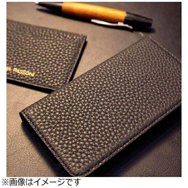 LORNAPASSONIロルナパッソーニiPhone7用手帳型レザーケースLeatherFolioCaseブラックLORNAPASSONICPAPPHE77301