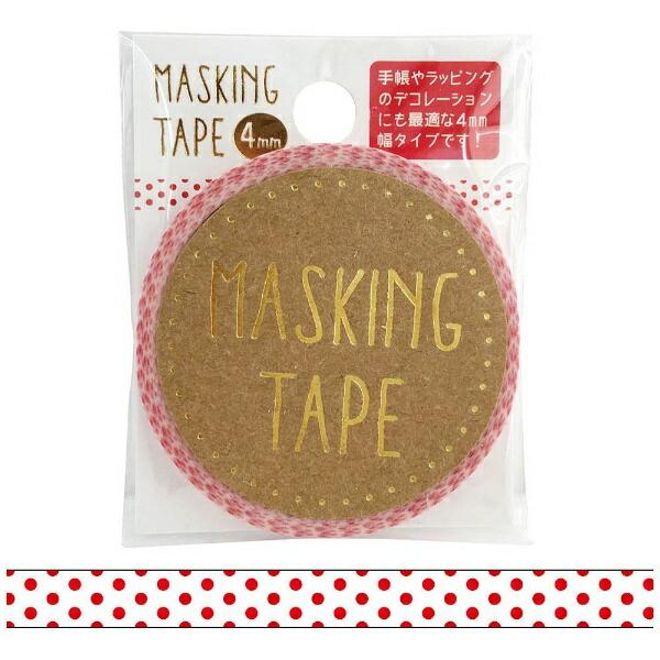 ワールドクラフトworldcraftマスキングテープ4mmピンドットW01-MT4-0012[W01MT40012]