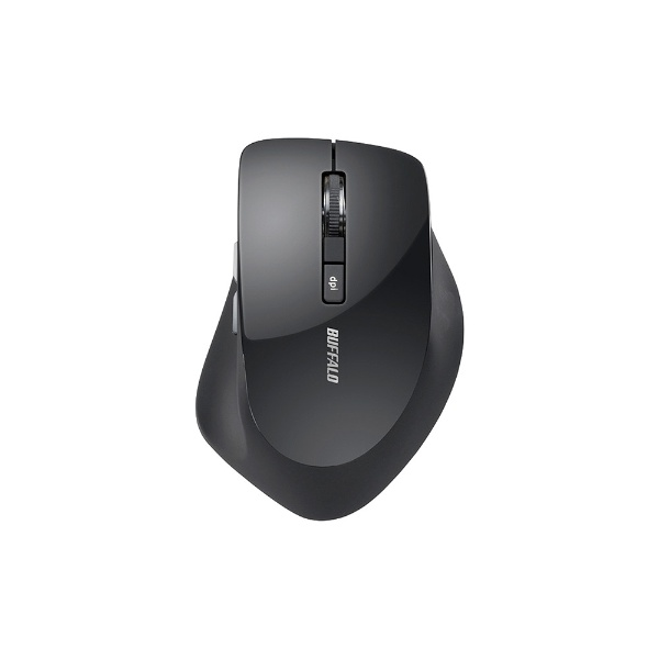 BUFFALOバッファローマウスブラックBSMBW328BK[BlueLED/無線(ワイヤレス)/5ボタン/USB]【rb_mouse_cpn】