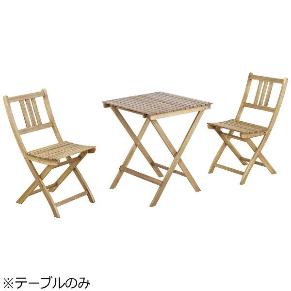 東谷AZUMAYA折りたたみテーブルバイロンNX-902(W60×D60×H72cm)