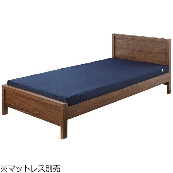 東谷AZUMAYAシングルベッドB-541S-BR(W208×D100×H75×SH30cm)【キャンセル・返品不可】【代金引換配送不可】