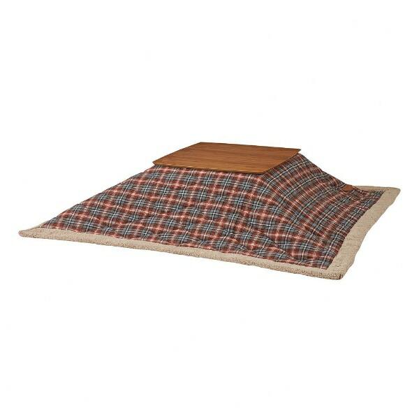 東谷AZUMAYAKK-125RDこたつ布団[対応天板サイズ:約75×75cm/正方形]