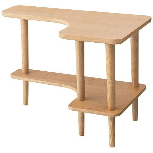 東谷AZUMAYAサイドテーブルNYT-781NA(W80×D50×H52cm)