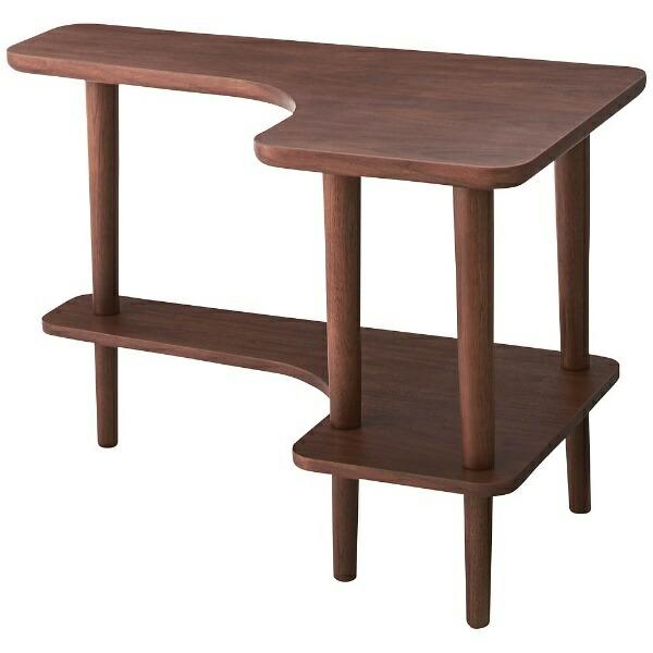 東谷AZUMAYAサイドテーブルNYT-781WAL(W80×D50×H52cm)