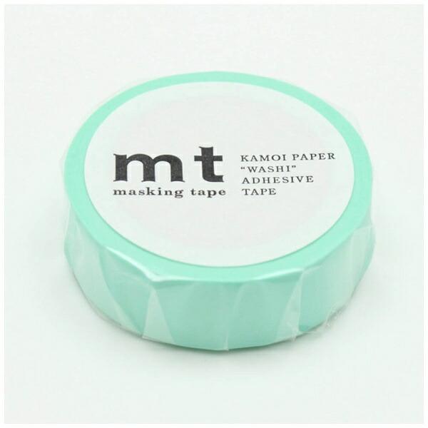 カモ井加工紙KAMOImtマスキングテープmt1PパステルエメラルドMT01P355