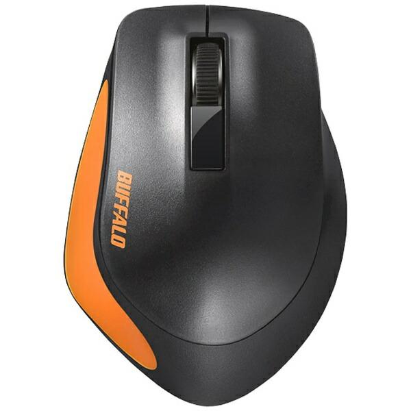 BUFFALOバッファローマウスオレンジBSMBW300MOR[BlueLED/無線(ワイヤレス)/3ボタン/USB][BSMBW300MOR]
