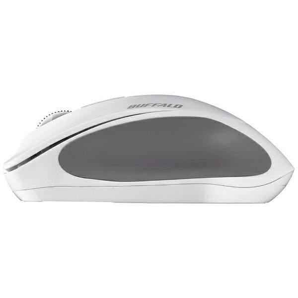 BUFFALOバッファローマウスホワイトBSMBW300MWH[BlueLED/無線(ワイヤレス)/3ボタン/USB]【rb_mouse_cpn】