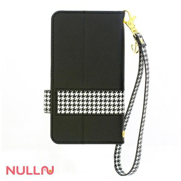 BELEXビーレックスiPhoneSE(第1世代)4インチ用NULLCHIDORISTRIPECASEブラックBLNL-002-BKスタンド機能ポケット付+ハンドストラップ