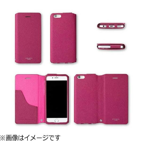 坂本ラヂヲiPhone6s/6用手帳型レザーケースGRAMASCOLORSPULeatherCaseネイビーGCLC4006NV