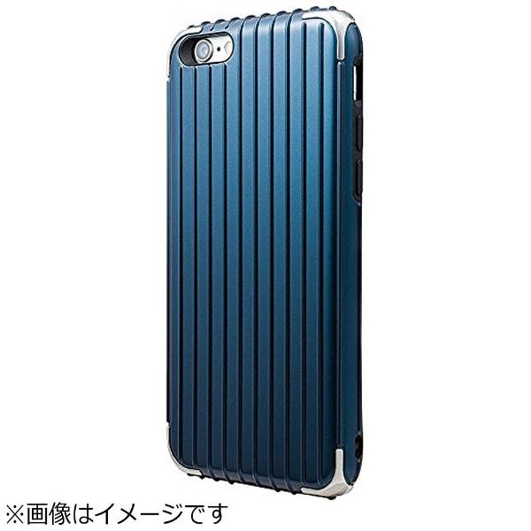 坂本ラヂヲiPhone6s/6用GRAMASCOLORSRibHybridCaseネイビーCHC406NV
