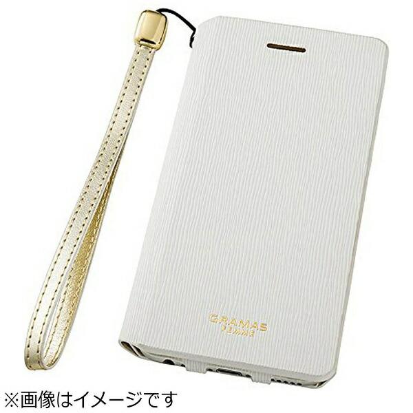 坂本ラヂヲiPhone6s/6用手帳型レザーケースGRAMASFEMMEColoFlapLeatherCaseホワイトFLC2126WH