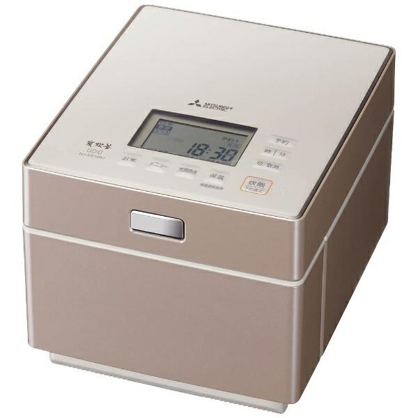 三菱MitsubishiElectricNJ-XS108J-P炊飯器備長炭炭炊釜テンダーロゼ[5.5合/IH][NJXS108J]