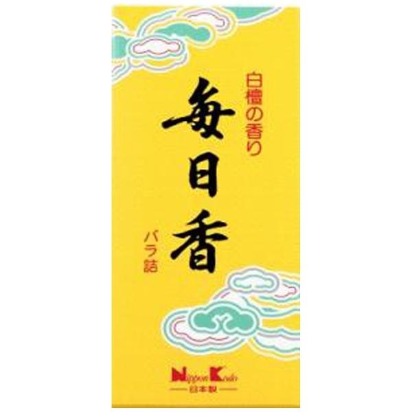 日本香堂NipponKodo毎日香小型バラ詰10801