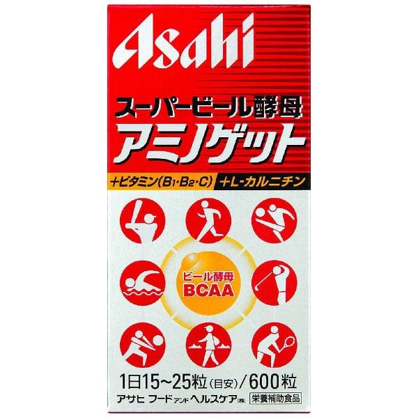 アサヒグループ食品AsahiGroupFoodsスーパービール酵母アミノゲット660粒〔栄養補助食品〕【wtcool】