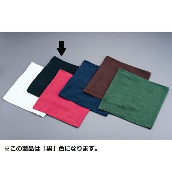吉田織物ミューファン抗菌オシボリタオル(12枚入)黒<POT0302>[POT0302]