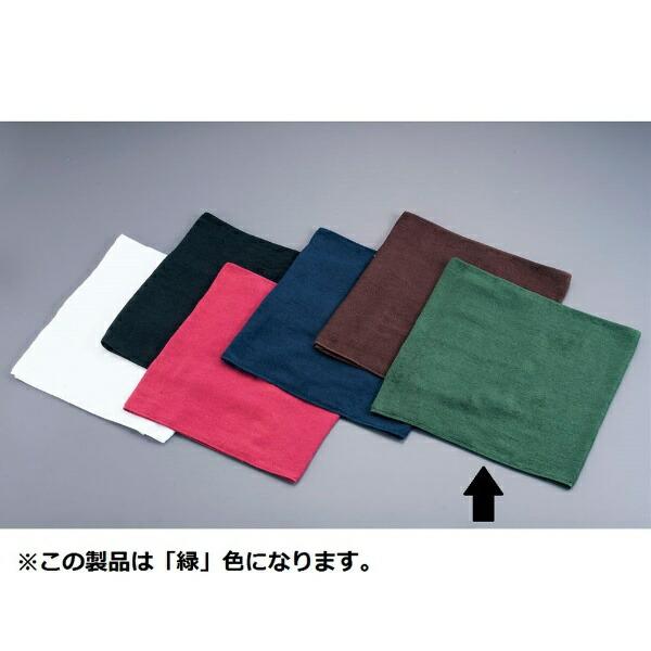吉田織物ミューファン抗菌オシボリタオル(12枚入)緑<POT0306>[POT0306]
