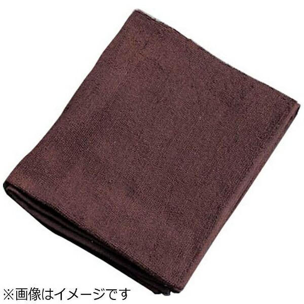 吉田織物ミューファン抗菌フェイスタオル(12枚入)茶<JFT0105>[JFT0105]