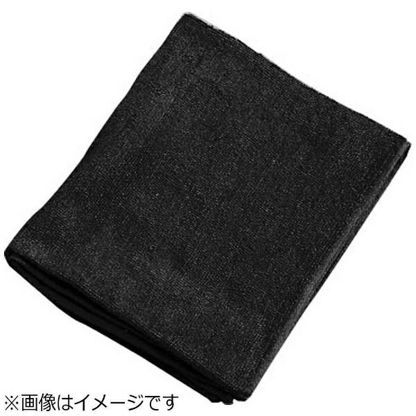 吉田織物ミューファン抗菌フェイスタオル(12枚入)黒<JFT0102>[JFT0102]