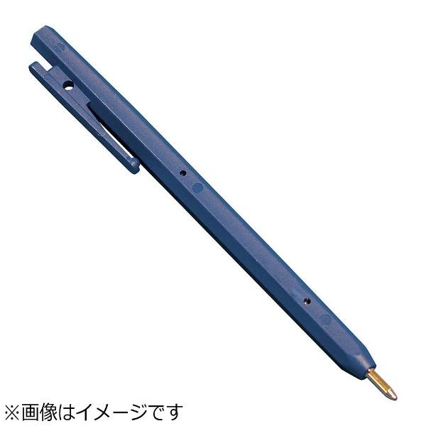 バーテックBURRTECバーキンタボールペンエコ102黒インク(金属検出機対応)青<ZPN1603>[ZPN1603]