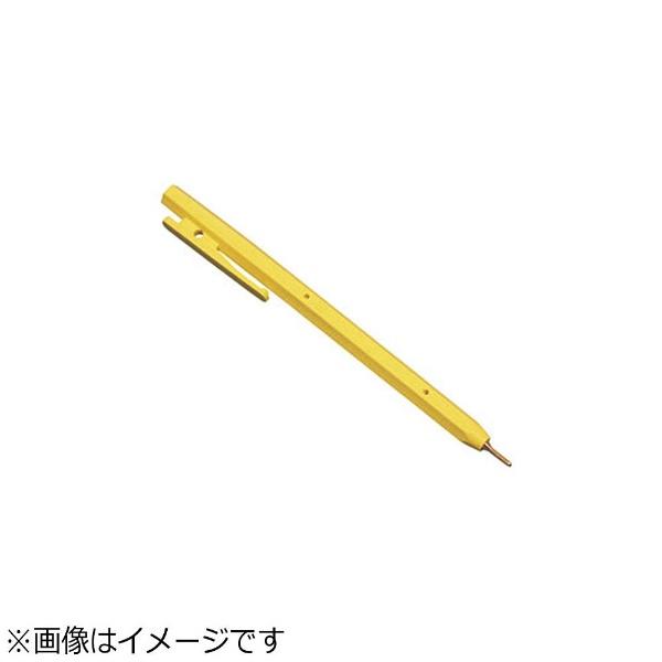 バーテックBURRTECバーキンタボールペンエコ102赤インク(金属検出機対応)黄<ZPN1504>[ZPN1504]