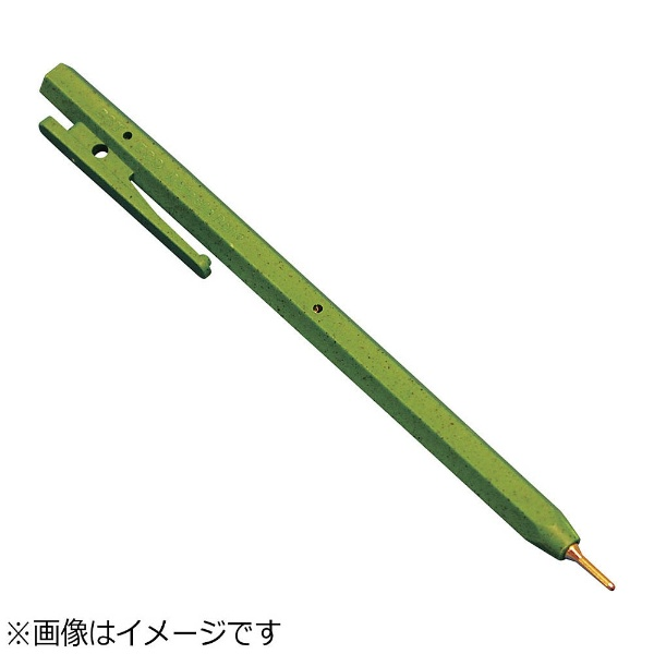 バーテックBURRTECバーキンタボールペンエコ102黒インク(金属検出機対応)緑<ZPN1605>[ZPN1605]