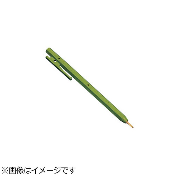 バーテックBURRTECバーキンタボールペンエコ102赤インク(金属検出機対応)緑<ZPN1505>[ZPN1505]