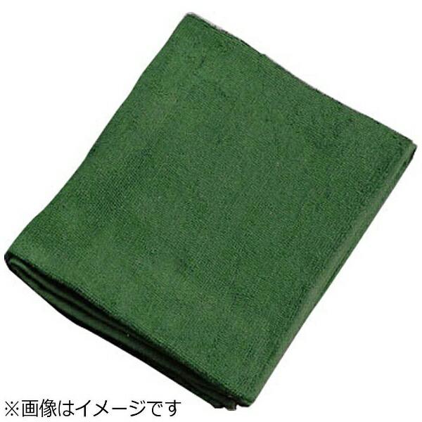 吉田織物ミューファン抗菌フェイスタオル(12枚入)緑<JFT0106>[JFT0106]
