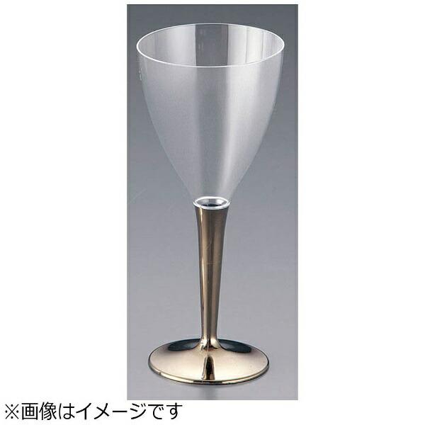 モザイクmozaikモザイクワイングラス(8個入)ゴールドMZGL8GO<NWI1501>[NWI1501]