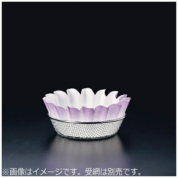 マインMIN紙すき鍋奉書花(300枚入)紫<QKM8405>[QKM8405]