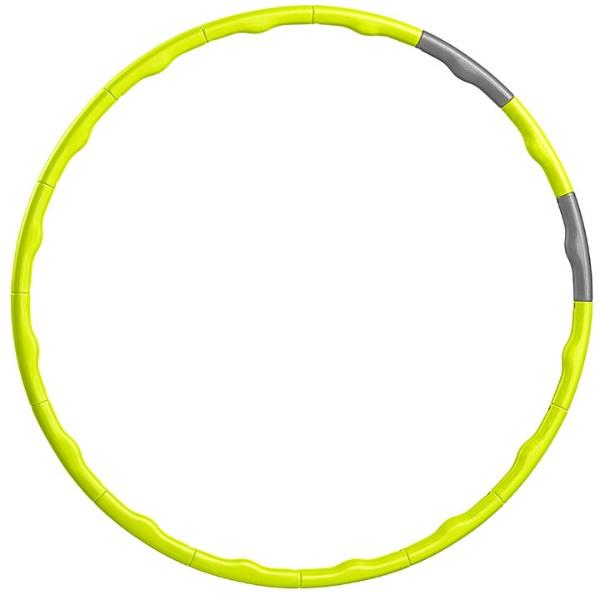 La-VIEラ・ヴィ健康グッズガールズフラフープ・へヴィ(φ80cm/ライム×シルバー)3B-3073