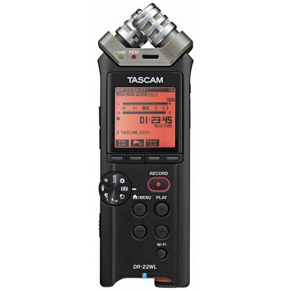 TASCAMタスカムDR-22WLVER2-JICレコーダー[ハイレゾ対応][録音機ボイスレコーダー小型高音質DR22WLVER2J]