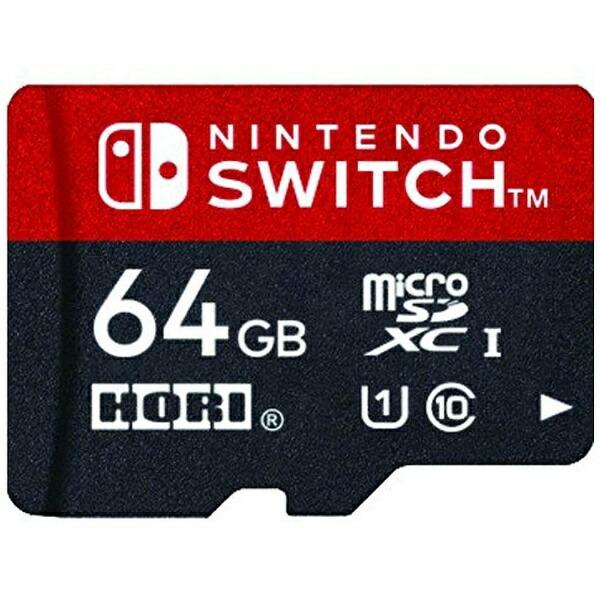 HORIホリマイクロSDカード64GBforSwitchNSW-046[Switch]