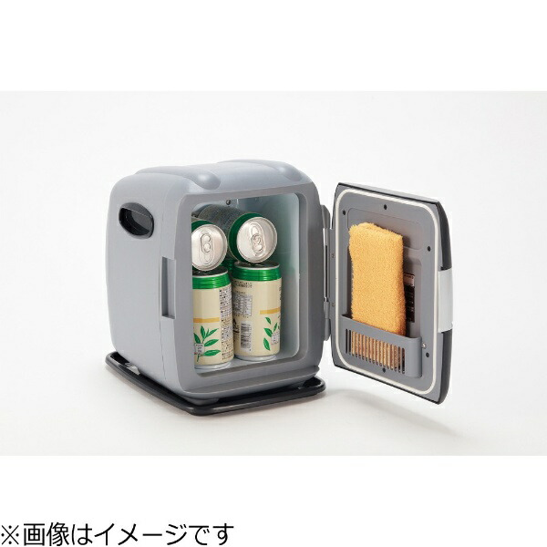 ツインバードTWINBIRDHR-D249GY?コンパクト電子保冷保温ボックス[24VDC電源専用]グレー[冷蔵庫小型HRD249GY]