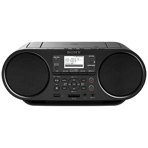 ソニーSONYCDラジオZS-RS81BT[Bluetooth対応/ワイドFM対応][ラジオ録音機能付きcdプレーヤー]