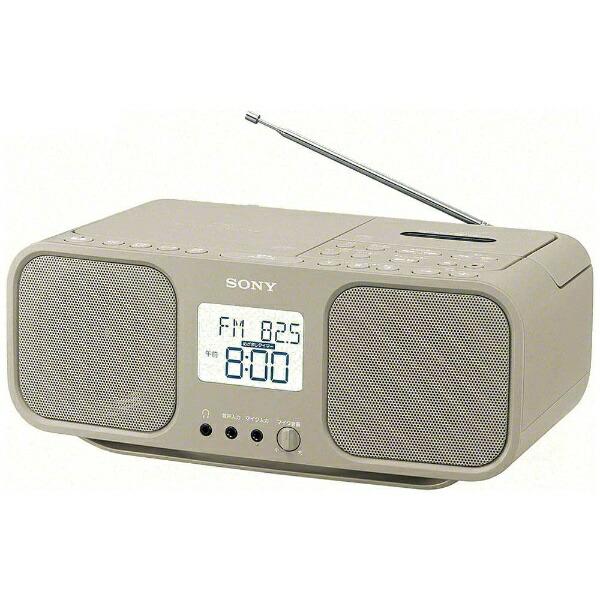 ソニーSONYCFD-S401ラジカセベージュ[ワイドFM対応/CDラジカセ][ラジカセcdプレーヤーCFDS401TIC]