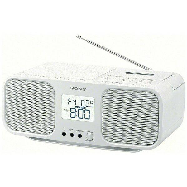 ソニーSONYCFD-S401ラジカセホワイト[ワイドFM対応/CDラジカセ][ラジカセcdプレーヤーCFDS401WC]