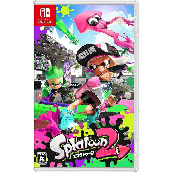 任天堂NintendoSplatoon2【Switchゲームソフト】