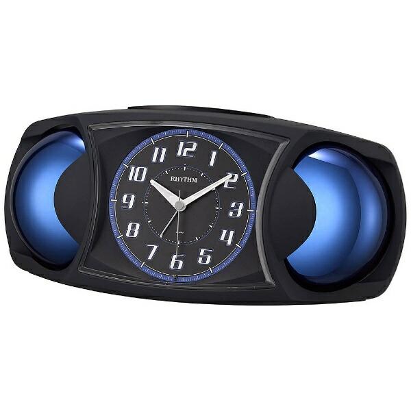 リズム時計RHYTHM目覚まし時計バトルMAXX黒(黒)4RA482SR02[アナログ]