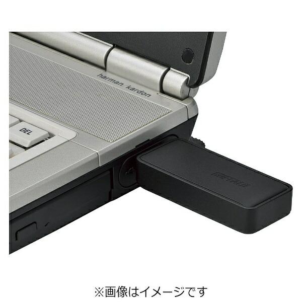 BUFFALOバッファローWI-U3-866DS-BK無線LAN子機ブラック[ac/n/a/g/b][WIU3866DS]