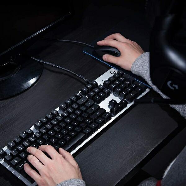 ロジクールLogicoolG413CBゲーミングキーボードG413Carbonカーボン:レッド[USB/有線][G413CB]