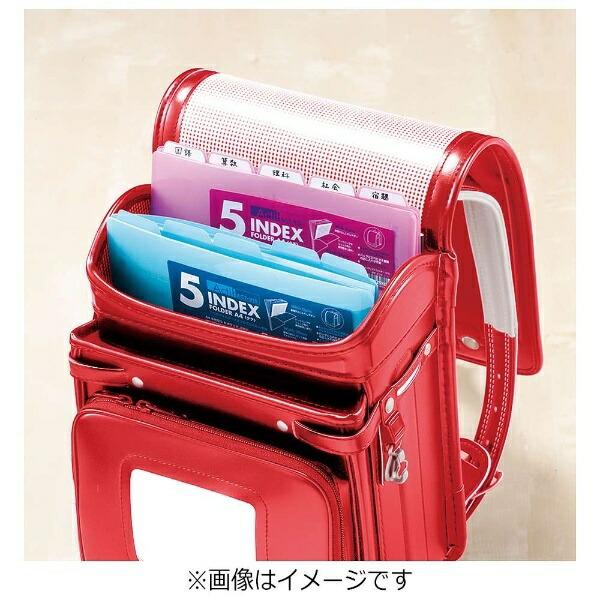 セキセイSEKISEI5インデックスフォルダータテA4Actif(アクティフ)ピンクACT-915-21