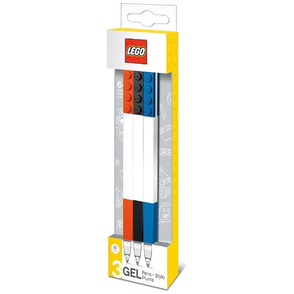 LEGOレゴLEGO(レゴ)ボールペン3色セット(ボール径:0.7mm)37503(赤、黒、青)