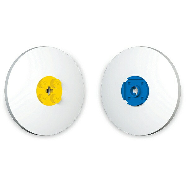 LEGOレゴLEGO(レゴ)消しゴム2個セット37506(黄、青)