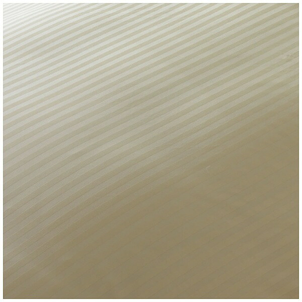 生毛工房UMOKOBO【まくらカバー】サテンストライプ標準サイズ(綿100%/45×90cm/ベージュ)【日本製】[UMK37PSRBE]