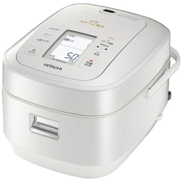 日立HITACHIRZ-AW3000M-W炊飯器ふっくら御膳パールホワイト[5.5合/圧力IH][RZAW3000MW]