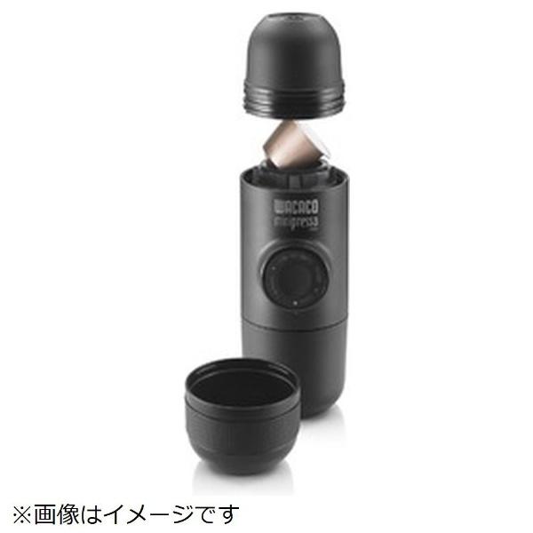 ラドンナLADONNALG12-MP-NSカプセル式コーヒーメーカーミニプレッソNSブラック[LG12MPNS]
