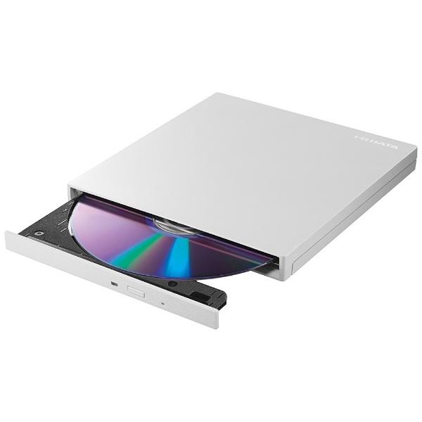 I-ODATAアイ・オー・データポータブルDVDドライブ[USB3.0・Mac/Win]ホワイトDVRP-UT8LWA[DVRPUT8LWA]