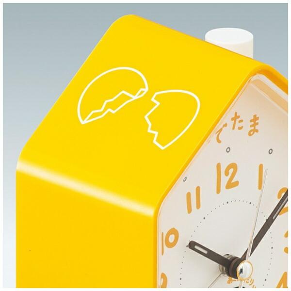 セイコーSEIKO目覚まし時計ぐでたま黄色CQ152Y[アナログ]