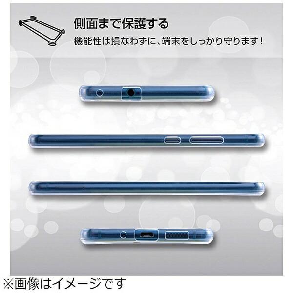 レイアウトrayoutHUAWEIP10lite用TPUソフトケース極薄ブラックRT-HP10LTC7/BM
